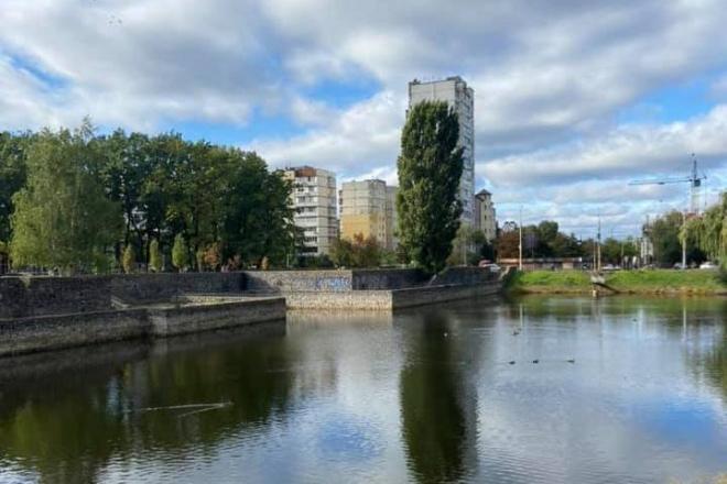 Навколо озер на Теремках облаштують громадський простір з терасою (ФОТО)