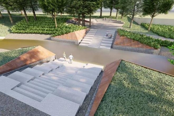 У Києві починають будувати парк «Почайна» – як він виглядатиме (ФОТО)