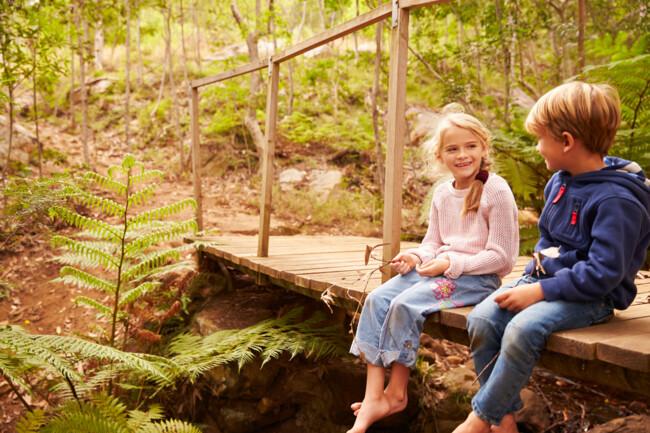 Ігри в лісах і парках підвищують імунітет дитини – дослідження