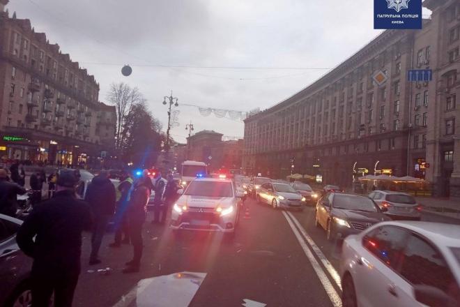 Смертельне ДТП на Хрещатику: як виглядає місце події зараз