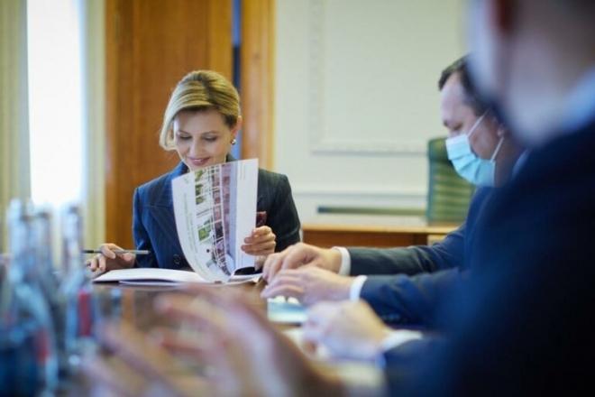 Олена Зеленська займеться безбар'єрністю містечка на Київщині