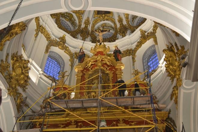 Як проходить реставрація ікон в Андріївській церкві (ФОТО)