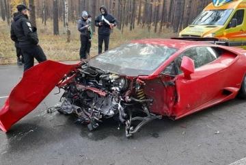 На Київщині під час зйомок фільму розбився спорткар Lamborghini (ФОТО)