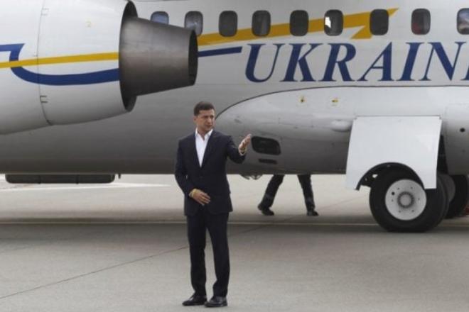 Літак Зеленського не дочекається надшвидкого інтернету. Тендер скасовано
