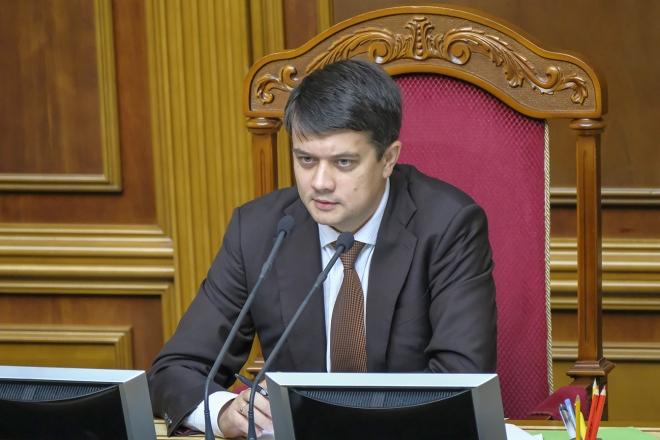 Голова Ради Разумков одужав від коронавірусу