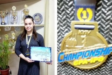 Школярка з Київщини стала чемпіонкою Європи з пауерліфтингу
