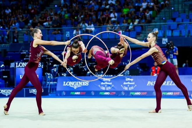 36-й чемпіонат Європи з художньої гімнастики стартував сьогодні в Києві