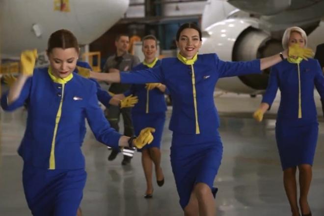 Танці з МАУ. Українська авіалінія приєдналась до танцювального флешмобу (ВІДЕО)