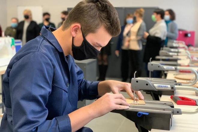 Сучасна техніка, відремонтоване приміщення: шкільній майстерні подарували нове життя