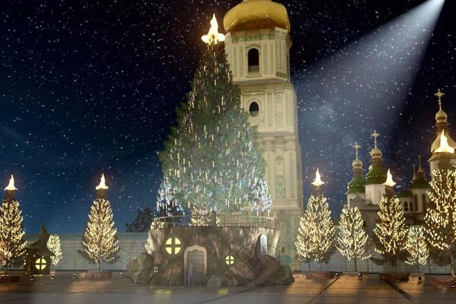 Ялинка, святковий маршрут і без шоу. Подробиці новорічного святкування у Києві