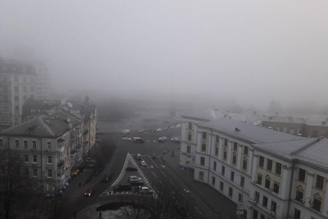 Сильний туман. Синоптики попереджають про погану видимість сьогодні та завтра