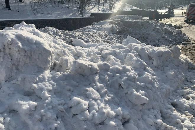 60 тонн за годину. Куди зникає прибраний в Києві сніг (ВІДЕО)