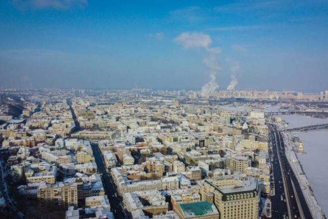 У двох районах Києва — підвищений рівень забруднення повітря