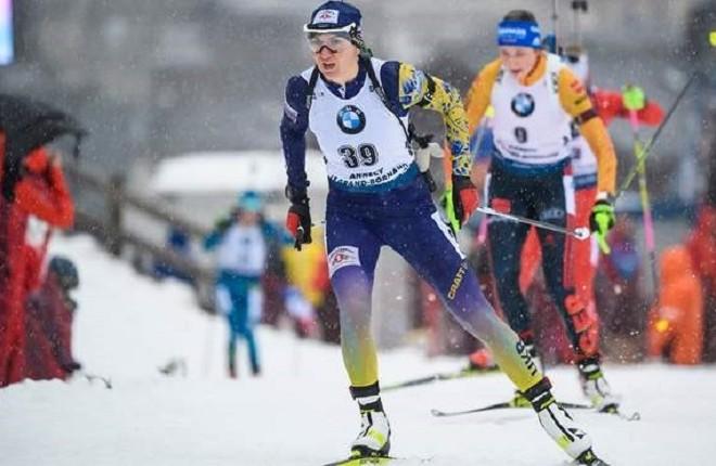 Киянка-біатлоністка завоювала срібну медаль на Кубку світу в Італії