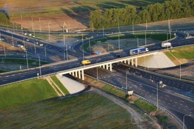 Які дороги і розв'язки побудують в кожному районі Києва