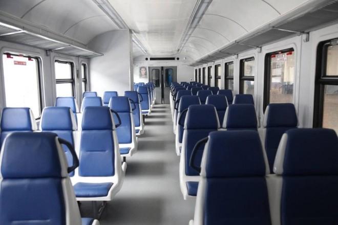Між Києвом та Тарасівкою курсуватиме модернізований електропоїзд