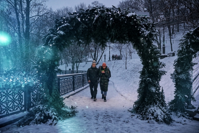 Сюрпризи зими. У столиці третій день поспіль температурні рекорди