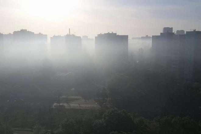 Вікна краще зачинити. В Києві високий рівень забруднення повітря