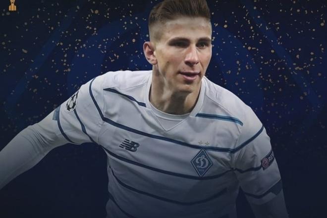 Киянин став найкращим молодим українським гравцем 2020 року
