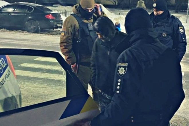 В парку «Молодіжний» за розпусні дії затримали чоловіка (ФОТО)