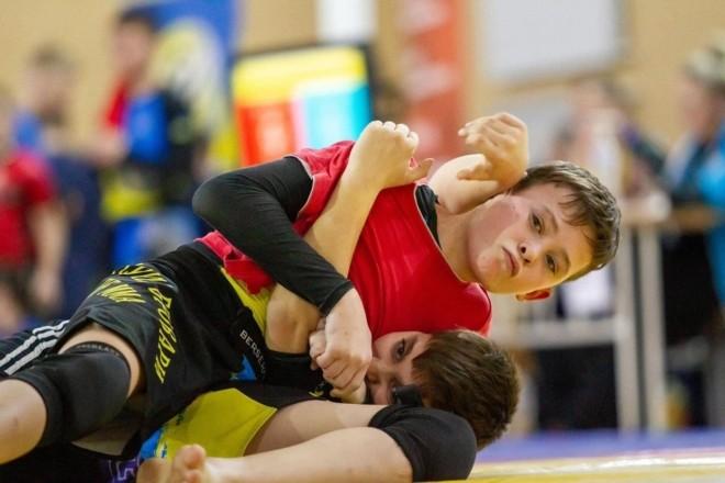 В Ірпені тривають дитячі змагання з панкратіону та грепплінгу. На кону кубок області (ФОТО)
