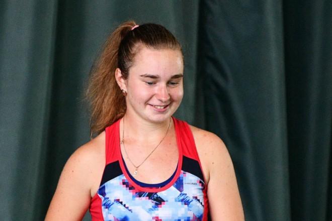 Тенісистка Дар'я Снігур підкорила черговий чемпіонат