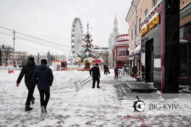 Контроль нон-стоп. Підприємцям винесли понад тисячу приписів за сніг