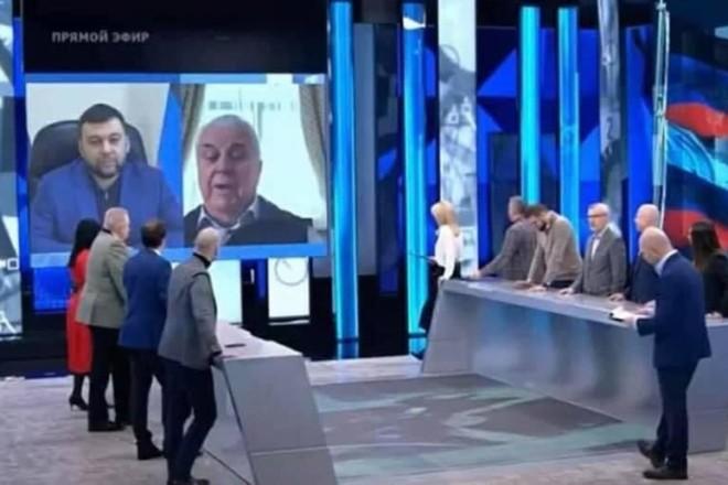 Кравчук говорив з терористом Пушиліним в ефірі каналу «Росія 1» – що на це каже речник ТКГ