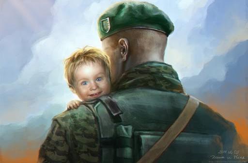 """Художниця, що малює прикордонників. В аеропорті """"Бориспіль"""" відкрили виставку пам'яті"""