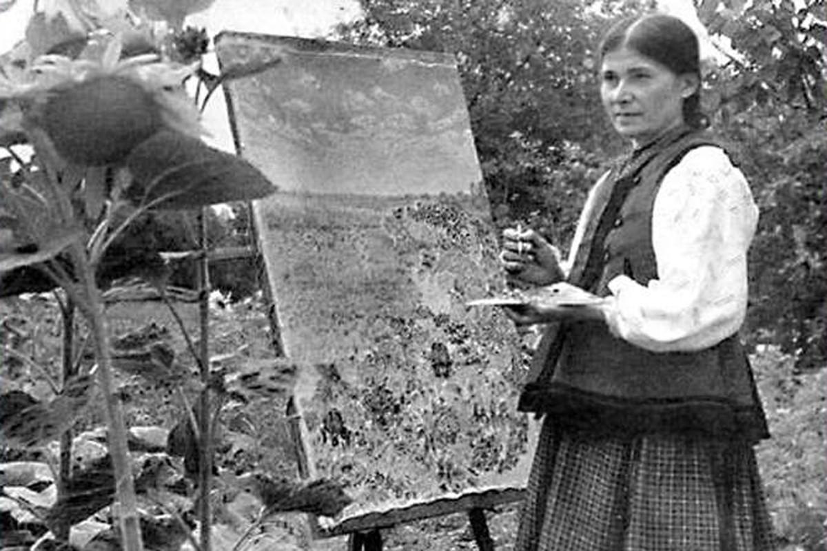 Катерина Білокур - українська художниця