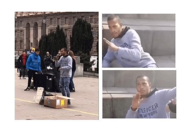 Вуличному музиканту нам'яли боки у центрі Києва за пісню Моргенштерна