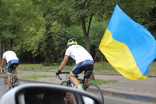 День українського добровольця: Київ вшанує патріотів велопробігом