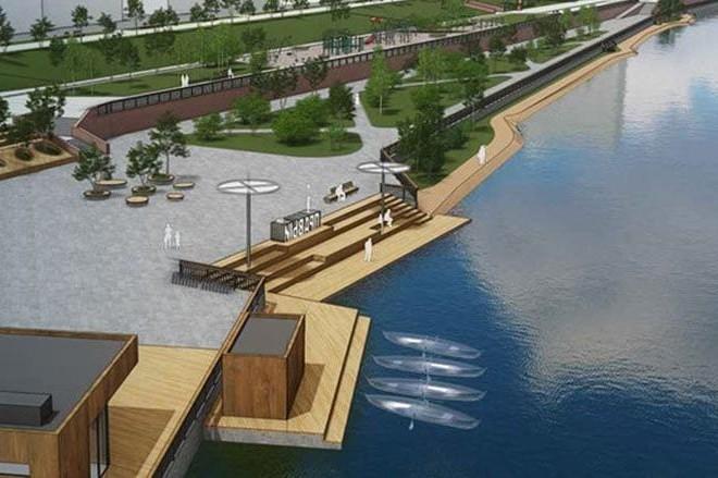 Біля яких водойм в Києві з'являться нові зони відпочинку