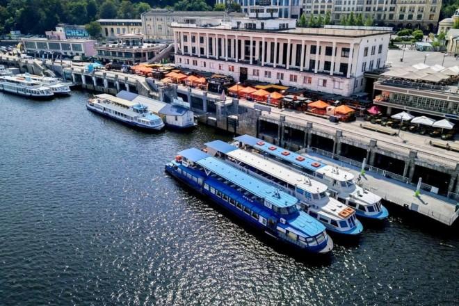 Теплоходом по Дніпру. Річковий порт розпочинає сезон прогулянок