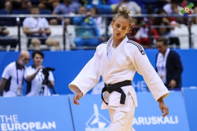 Дарія Білодід стала віцечемпіонкою Європи з дзюдо. Вона знялася з фіналу