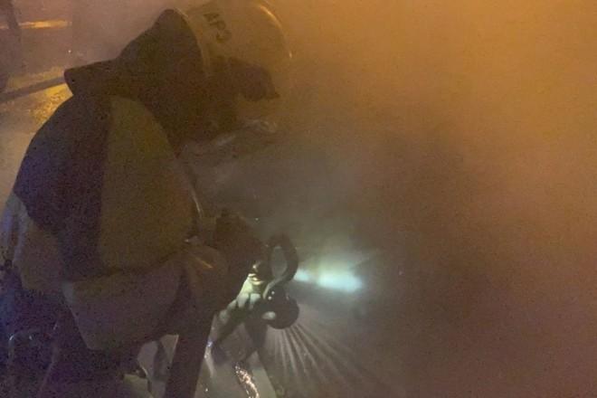 У Києві другу ніч поспіль палають автівки. Цього разу на Троєщині