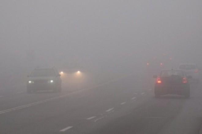Видимість мінімальна. Столицю накриє туманом