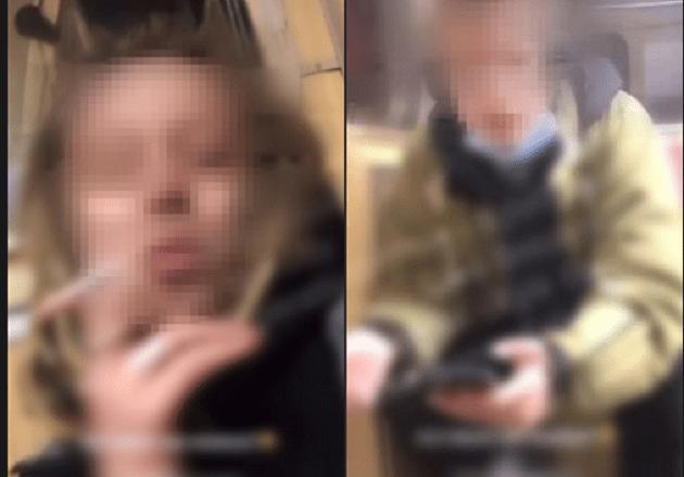 """""""Говорили і курили"""", прямо у вагоні столичного метро: поліція піймала зухвальців (ВІДЕО)"""