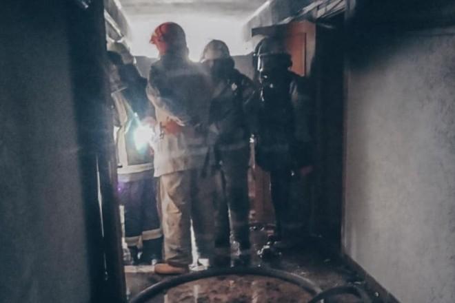 З пожежі на Голосіївському районі врятовано людину – що відомо