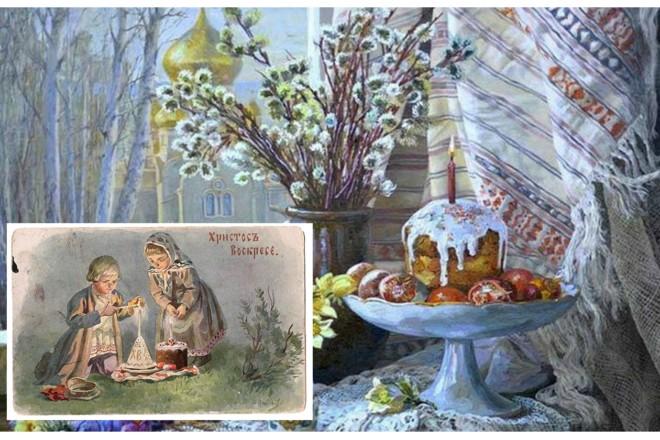 Великдень по-київськи: височенна «баба», букети для Богородиці та балаганчики на Хрещатику