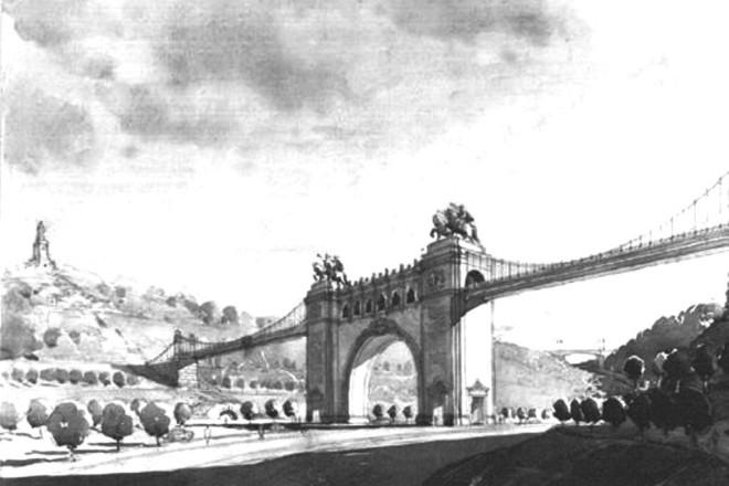 Як в Парижі. У Києві комуністи хотіли звести Тріумфальну арку дружби і возз'єднання (ФОТО)