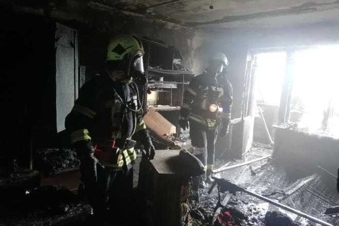 В квартирі на вул. Ревуцького спалахнула пожежа – є постраждалі
