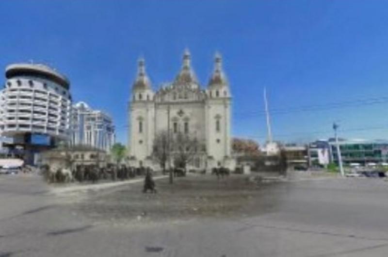 Як би виглядав знесений Микільський собор на тлі сучасної архітектури (ФОТО)