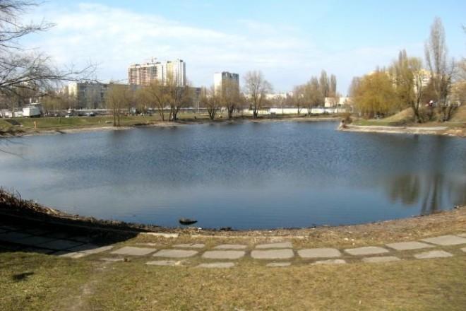 Смердить і дохне риба: кияни просять почистити озеро на Борщагівці
