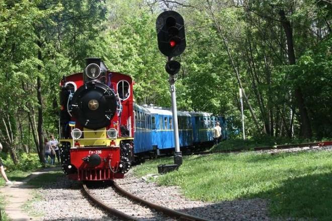 І знову в дорогу. Київська дитяча залізниця відкрила 68-й сезон роботи