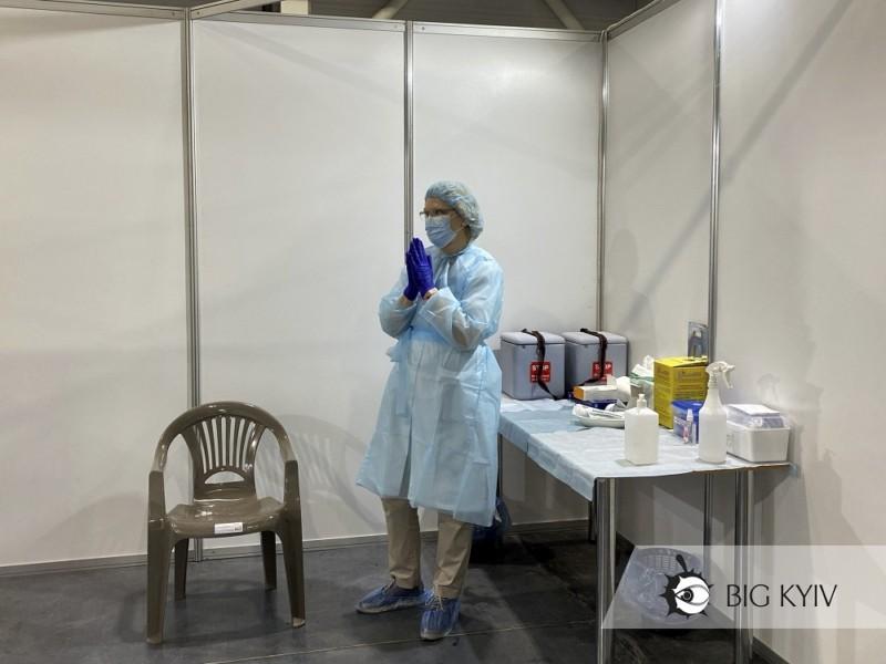 На Київщині збільшили кількість центрів масової вакцинації (АДРЕСИ)