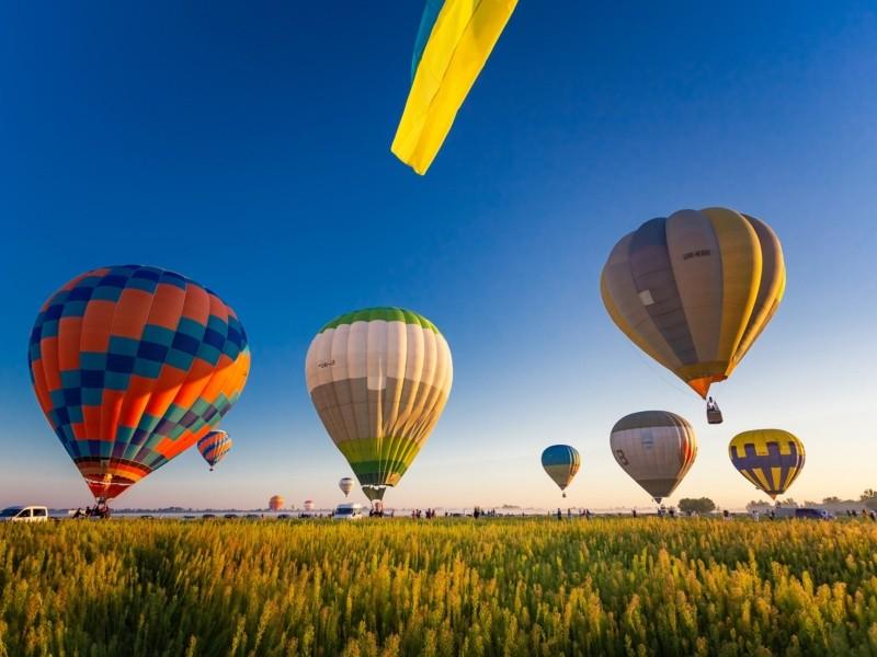 На вихідних під Києвом відбудеться фестиваль повітряних куль «Монгольф'єрія»