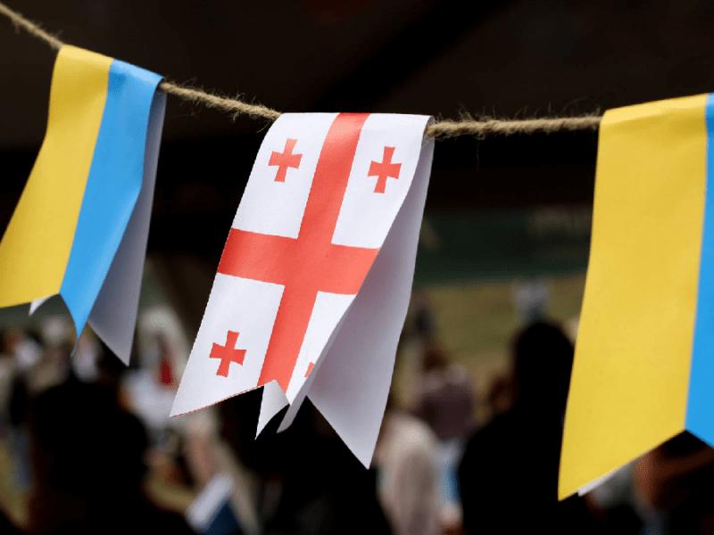 Київ та Тбілісі продовжують зміцнювати співпрацю. Обговорено спільні цінності