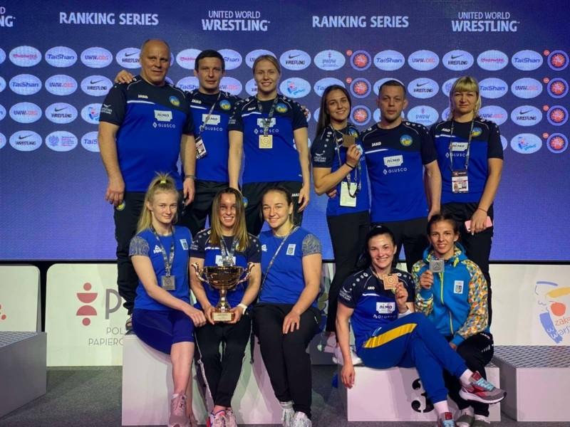 Лялечки-борчині: жіноча збірна України – перша на Open Poland!