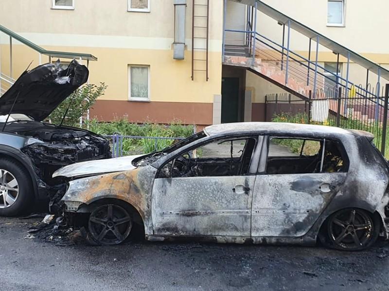 У столиці згоріло авто активіста, який відстоює збереження парку Партизанської Слави